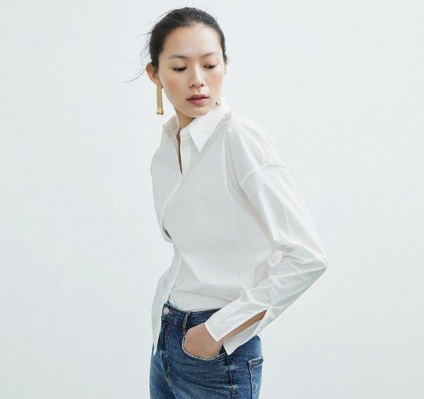 简约原创纯棉衬衫第3张